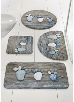 Tapis de bain Footprint à mémoire de forme, bpc living bonprix collection