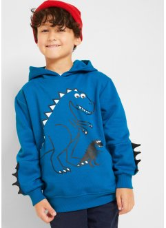 Sweat-shirt garçon à capuche imprimé dino, bpc bonprix collection
