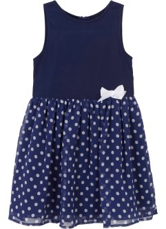 Robe festive fille à pois, bpc bonprix collection