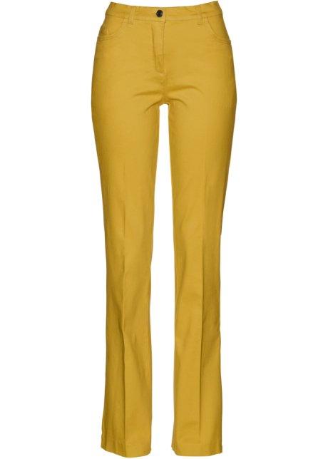 ff9e4ac68d9e9 Pantalon extensible Bootcut jaune curry - Femme - bonprix-wa.be