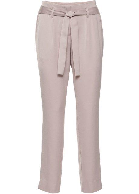 ab9932cf5fe2 Pantalon en satin rose mat - BODYFLIRT - bonprix-wa.be