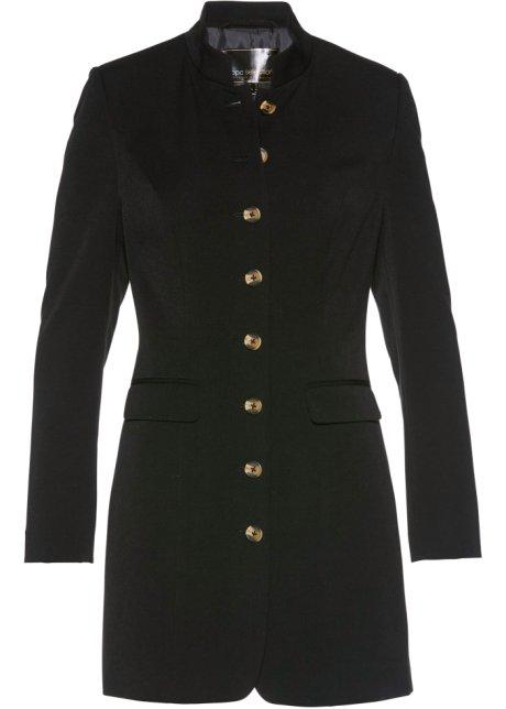 d1ab5e5d3c Blazer long noir - Femme - bpc selection - bonprix-wa.be