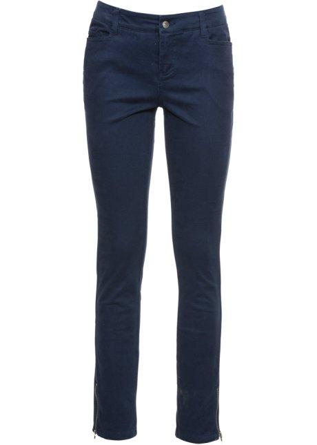 f460a09588ae Pantalon Skinny raccourci bleu foncé - Femme - RAINBOW - bonprix-wa.be