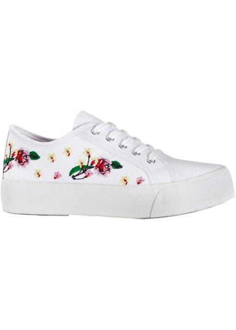 Sneakers be Blanc Plateforme Bonprix Wa Femme l1Kc3TFJ