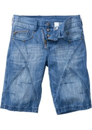 Bermuda en jean Regular Fit, RAINBOW, medium bleu bleached used