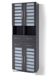 Armoire large Ted, bpc living, anthracite