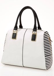 Shopper avec rayures en noir & blanc, bpc bonprix collection