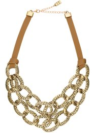 Collier Urban Safari, bpc bonprix collection, daim/doré