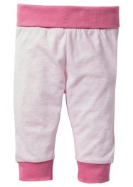 Lot de 2 pantalons bébé en coton bio, bpc bonprix collection