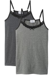 Lot de 2 tops, bpc bonprix collection