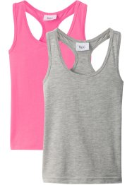 Lot de 2 tops dos nageur, bpc bonprix collection
