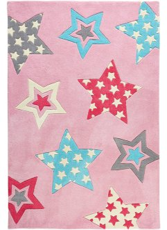 Tapis enfant Pam, bpc living, rose