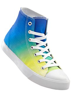Sneakers high, bpc bonprix collection, bleu