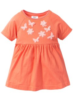 Robe avec application, bpc bonprix collection, orange