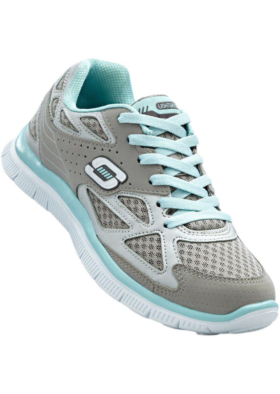 Sneakers de skechers m moire de forme gris menthe femme bonprix - Surmatela a memoire de forme ...