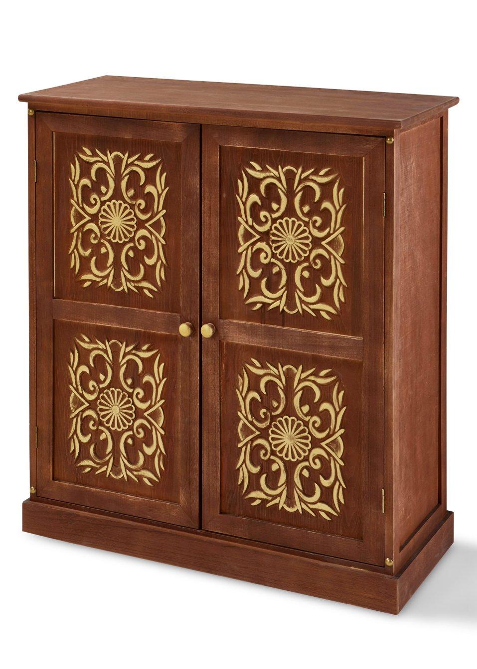 commode bali marron fonc maison bonprix. Black Bedroom Furniture Sets. Home Design Ideas
